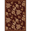 Home Dynamix Lisbon 7-ft 8-in x 10-ft 4-in Rectangular Tan Floral Area Rug