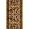 Home Dynamix Paris 2-ft 3-in W x 18-ft L Ivory Runner