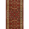 Home Dynamix Paris 2-ft 3-in W x 8-ft L Red Runner