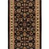 Home Dynamix Paris Black Rectangular Indoor Woven Runner (Common: 2 x 14; Actual: 27-in W x 168-in L)