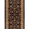 Home Dynamix Paris Black Rectangular Indoor Woven Runner (Common: 2 x 30; Actual: 27-in W x 348-in L)