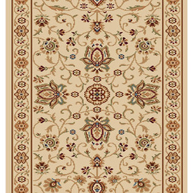Home Dynamix Rome Ivory Rectangular Indoor Woven Runner (Common: 2 x 22; Actual: 27-in W x 264-in L)