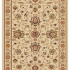 Home Dynamix Rome 2-ft 3-in W x 31-ft L Ivory Runner