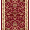 Home Dynamix Rome 2-ft 3-in W x 35-ft L Red Runner