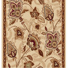 Home Dynamix Lisbon 2-ft 3-in W x 7-ft L Ivory Runner