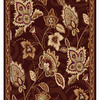 Home Dynamix Lisbon 2-ft 3-in W x 38-ft L Brown Runner