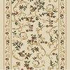 Home Dynamix Geneva 2-ft 3-in W x 9-ft L Ivory Runner