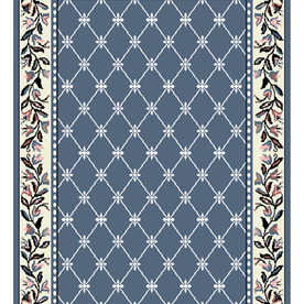 Home Dynamix London Blue Woven Runner (Common: 2-ft x 9-ft; Actual: 2-ft 3-in x 9-ft)