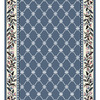 Home Dynamix London 2-ft 3-in W x 12-ft L Blue Runner