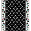 Home Dynamix London Black Rectangular Indoor Woven Runner (Common: 2 x 26; Actual: 27-in W x 300-in L)