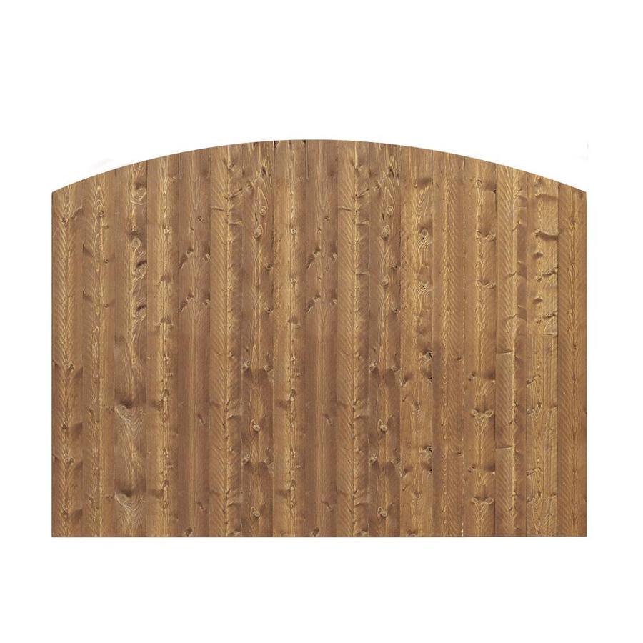 Shop Barrette Spruce Dog Ear Wood Fence Picket Panel