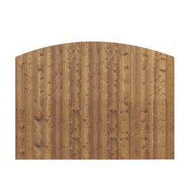 Shop Barrette Spruce Wood Fence Panel Actual 8 Ft X 6 Ft