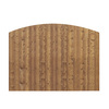 Barrette 8-ft x 6-ft Spruce Dog-Ear Wood Fence Privacy Panel