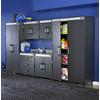 BLACK & DECKER 76.75-in H x 47.75-in W x 19.75-in D Wood Composite Garage Cabinet