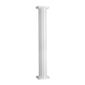 IMPERIAL 8-in x 10-ft Aluminum Colonial Column