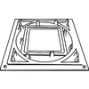 IMPERIAL 7-1/4-in Aluminum Laying Plate