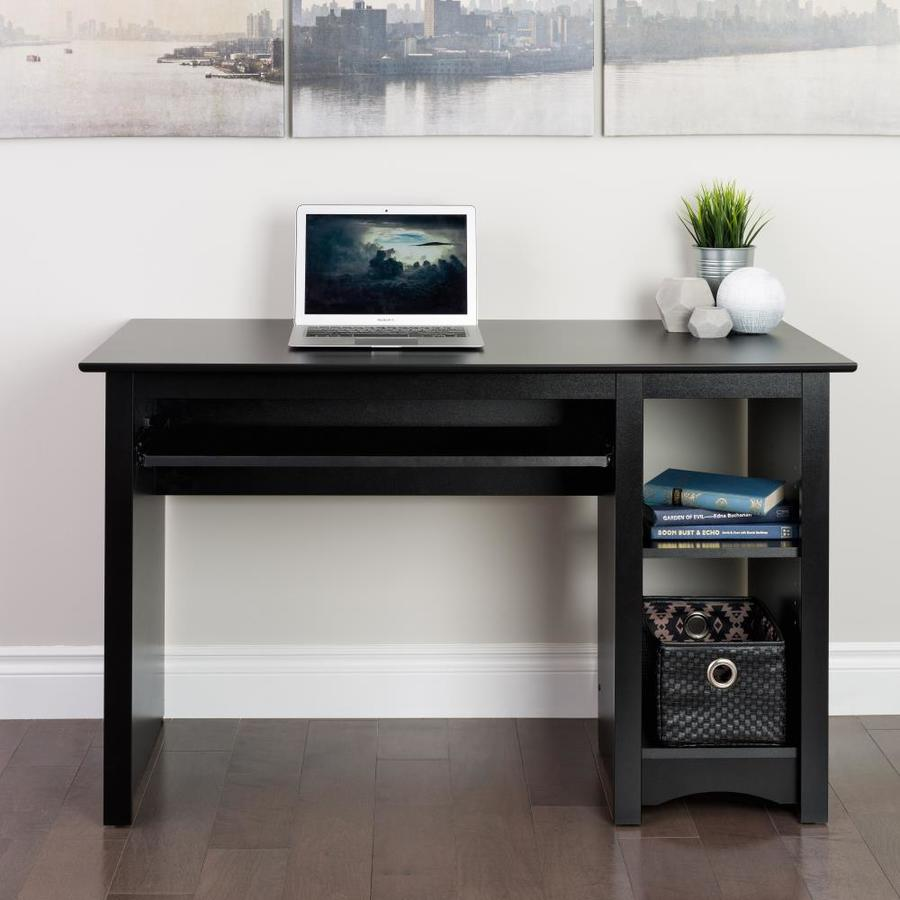 Prepac Modern/Contemporary Black Computer Desk