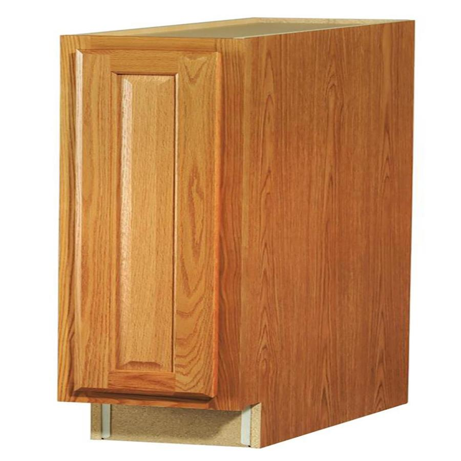Shop kitchen classics portland 9 in w x 35 in h x for Finished kitchen cabinets