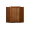 Kitchen Classics Napa 24-in W x 30-in H x 12-in D Saddle Birch Corner Wall Cabinet
