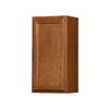 Kitchen Classics Napa 15-in W x 30-in H x 12-in D Saddle Birch Door Wall Cabinet