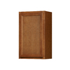 Kitchen Classics Napa 18-in W x 30-in H x 12-in D Saddle Birch Door Wall Cabinet