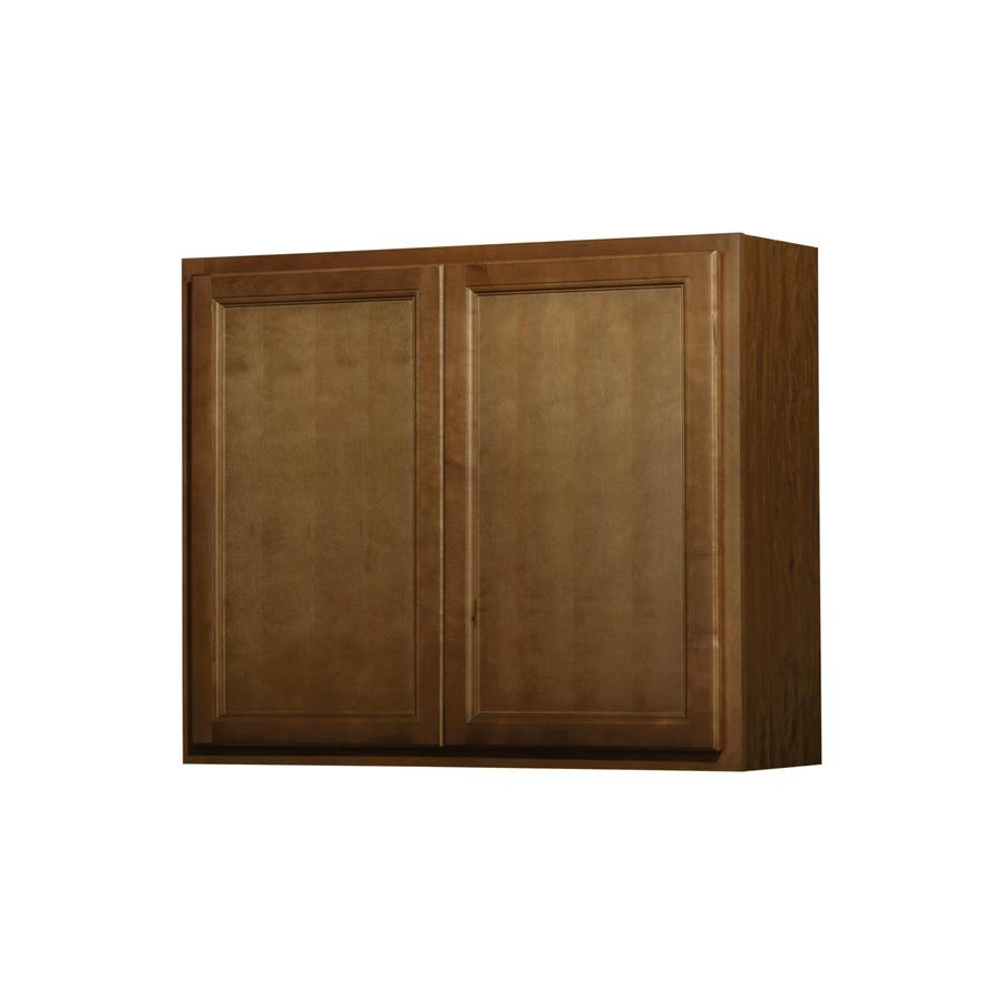 In X 12 In Napa Saddle Double Door Kitchen Wall Cabinet At