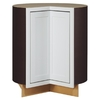 Kitchen Classics Arcadia 36-in W x 35-in H x 23.75-in D White Shaker Lazy Susan Base Cabinet