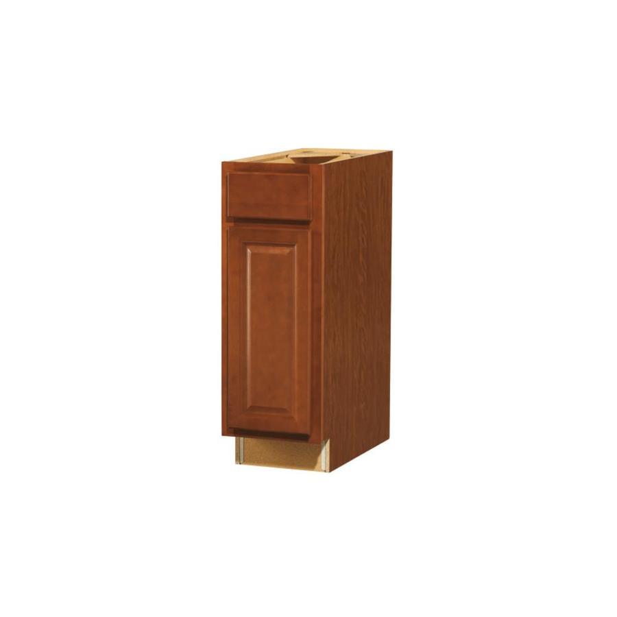 Shop kitchen classics cheyenne 12 in w x 35 in h x for Cheyenne saddle kitchen cabinets