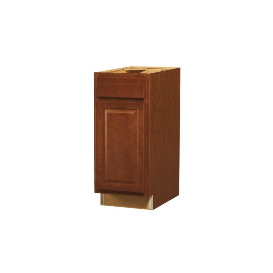 Shop kitchen classics 35 in h x 15 in w x 23 3 4 in d for Cheyenne saddle kitchen cabinets