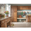Kitchen Classics Cheyenne 15-in W x 35-in H x 23.75-in D Saddle Birch Door and Drawer Base Cabinet