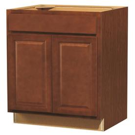 Kitchen Classics 35-in H x 30-in W x 23-3/4-in D Cheyenne Saddle Door and Drawer Base Cabinet