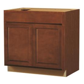 Kitchen Classics 35-in H x 36-in W x 23-3/4-in D Cheyenne Saddle Door and Drawer Base Cabinet