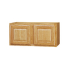 Kitchen Classics 12-in x 36-in x 12-in Oak Double Door Kitchen Wall Cabinet