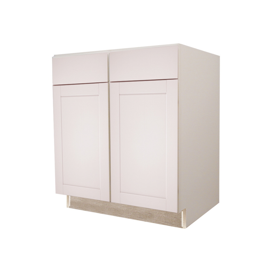 shop kitchen classics 34 5 in h x 36 in w x 24 in d sink base cabinet