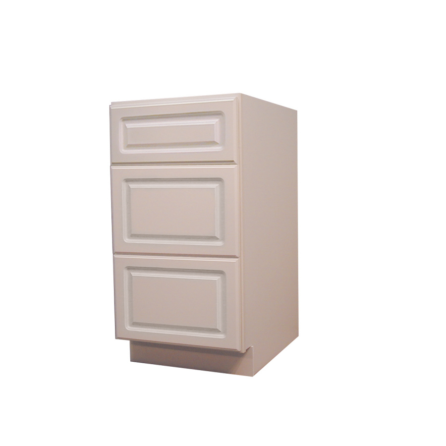 Shop kitchen classics 34 5 in h x 18 in w x 24 in d drawer - 24 inch kitchen cabinet with drawers ...
