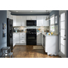 Kitchen Classics Arcadia 12-in W x 30-in H x 12-in D White Shaker Door Wall Cabinet