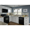 Kitchen Classics Arcadia 15-in W x 30-in H x 12-in D White Shaker Door Wall Cabinet