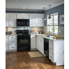 Kitchen Classics Arcadia 36-in W x 30-in H x 12-in D White Shaker Door Wall Cabinet