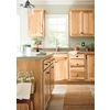 Kitchen Classics Denver 24-in W x 30-in H x 12-in D Hickory Corner Wall Cabinet