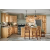 Kitchen Classics Denver 18-in W x 84-in H x 23.75-in D Hickory Pantry Cabinet