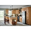 Kitchen Classics Denver 18-in W x 30-in H x 12-in D Hickory Door Wall Cabinet