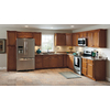 Kitchen Classics Cheyenne 18-in W x 30-in H x 12-in D Saddle Birch Door Wall Cabinet
