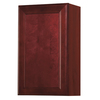 Kitchen Classics 30-in H x 18-in W x 12-in D Merlot Single Door Wall Cabinet
