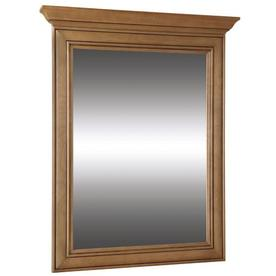 allen + roth 37-in H x 30-in W Ryerson Golden Rectangular Bathroom Mirror