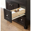allen + roth Palencia Espresso Contemporary Bathroom Vanity (Common: 36-in x 21-in; Actual: 36-in x 21-in)