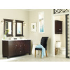 Diamond Fresh Fit Palencia Espresso Contemporary Bathroom Vanity (Common: 60-in x 21-in; Actual: 60-in x 21-in)