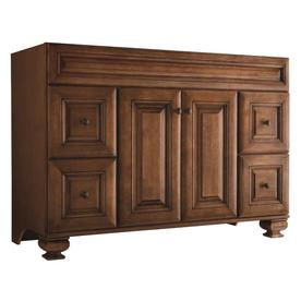 Bathroom Cabinets 48 Inch shop bathroom vanities at lowes