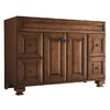 allen + roth Ballantyne 48-in x 21-in Mocha with Ebony Glaze Traditional Bathroom Vanity