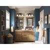 allen + roth Ballantyne Mocha with Ebony Glaze Traditional Bathroom Vanity (Common: 60-in x 21-in; Actual: 60-in x 21-in)