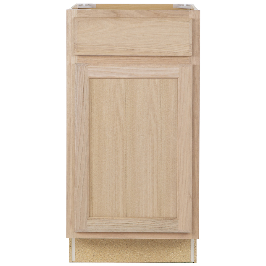 23 3 4 In D Unfinished Door And Drawer Base Cabinet At